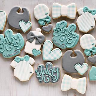 Classic Baby Boy Cookies