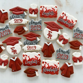 Class of 2019 Graduation Cookies | Simply Renee Sweets
