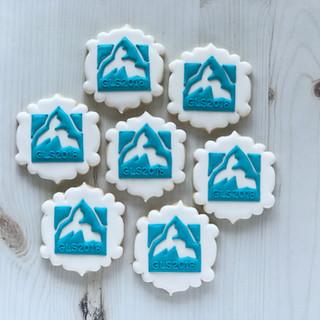 Global Leadership Summit Decorated Cookies | Simply Renee Sweets