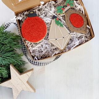 Christmas Ornament Trio 2020