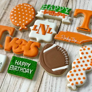 University of Tennessee Cookies 2 | Simply Renee Sweets