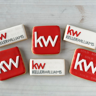 Keller Williams Decorated Cookies