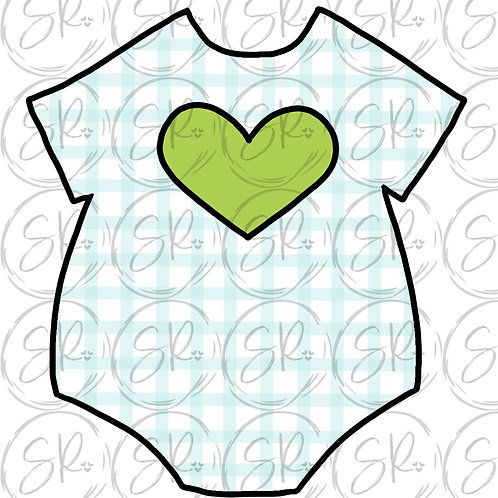 Baby Onesie - 4 inch stl file only