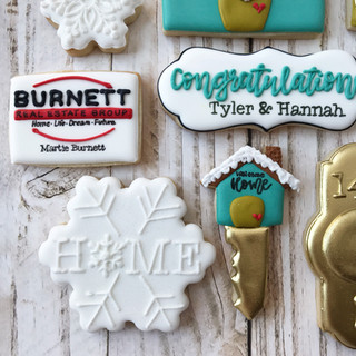 Winter Burnett Real Estate Group Welcome Home Cookies 2 Decorated Cookies Decorated Cookies