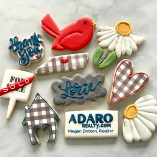 Adaro Realty Cookies
