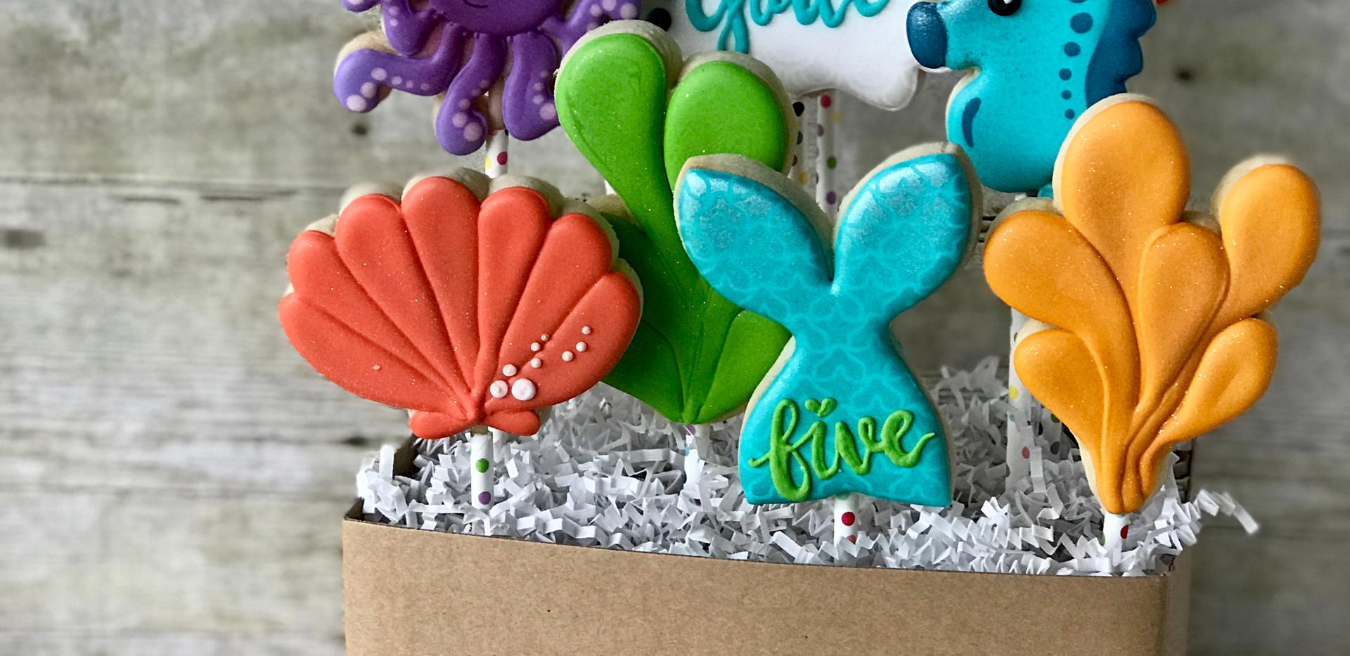 Mermaid Cookie Bouquet _ Simply Renee Sw