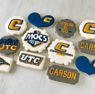 UTC College Cookies | Simply Renee Sweets