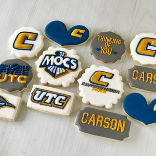 UTC College Cookies | Simply Renee Sweets