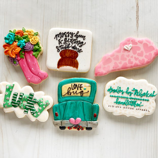 Doodles by Rebekah Decorated Cookies | Simply Renee Sweets