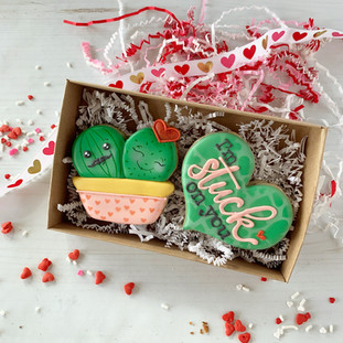 Stuck On You Decorated Cookies