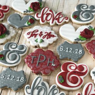 Wedding Reception Cookies | Simply Renee Sweets
