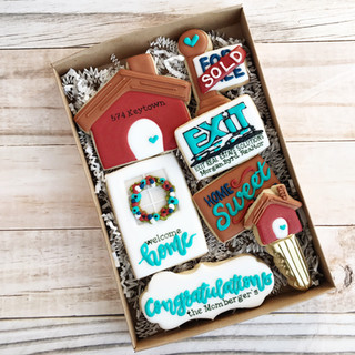 Exit Real Estate Solutions Welcome Home Cookies Decorated Cookies