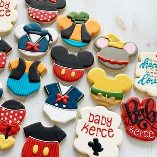 Character Baby Cookies | Simply Renee Sweets