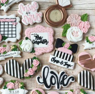 Save the Date Cookies | Simply Renee Sweets