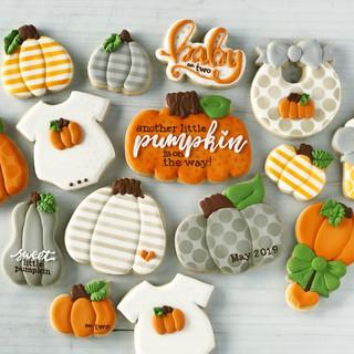 Little Pumpkin Baby Cookies | Simply Renee Sweets