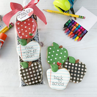 Trio of Apples Bagged | Simply Renee Sweets