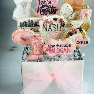 Bachelorette Shower Cookie Bouquet  | Simply Renee| Simply Renee Sweets