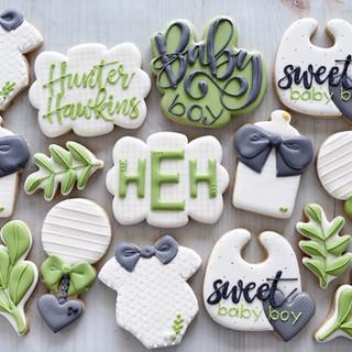 Boy Baby Cookies | Simply Renee Sweets