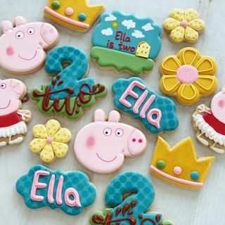 Peppa Pig Birthday Cookies | Simply Renee Sweets