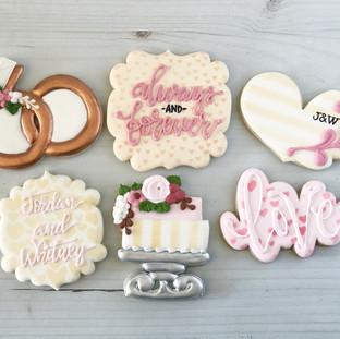 Wedding Cookies | Simply Renee Sweets