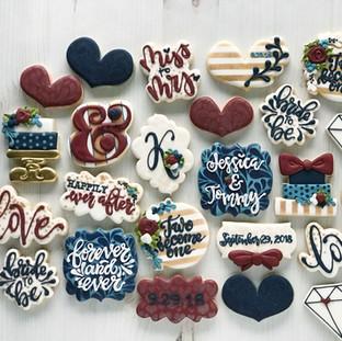 Wedding Shower Cookies | Simply Renee Sweets
