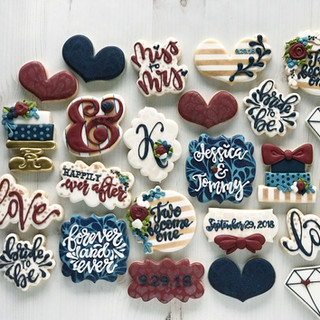 Wedding Shower Cookies | Simply Renee Sweets