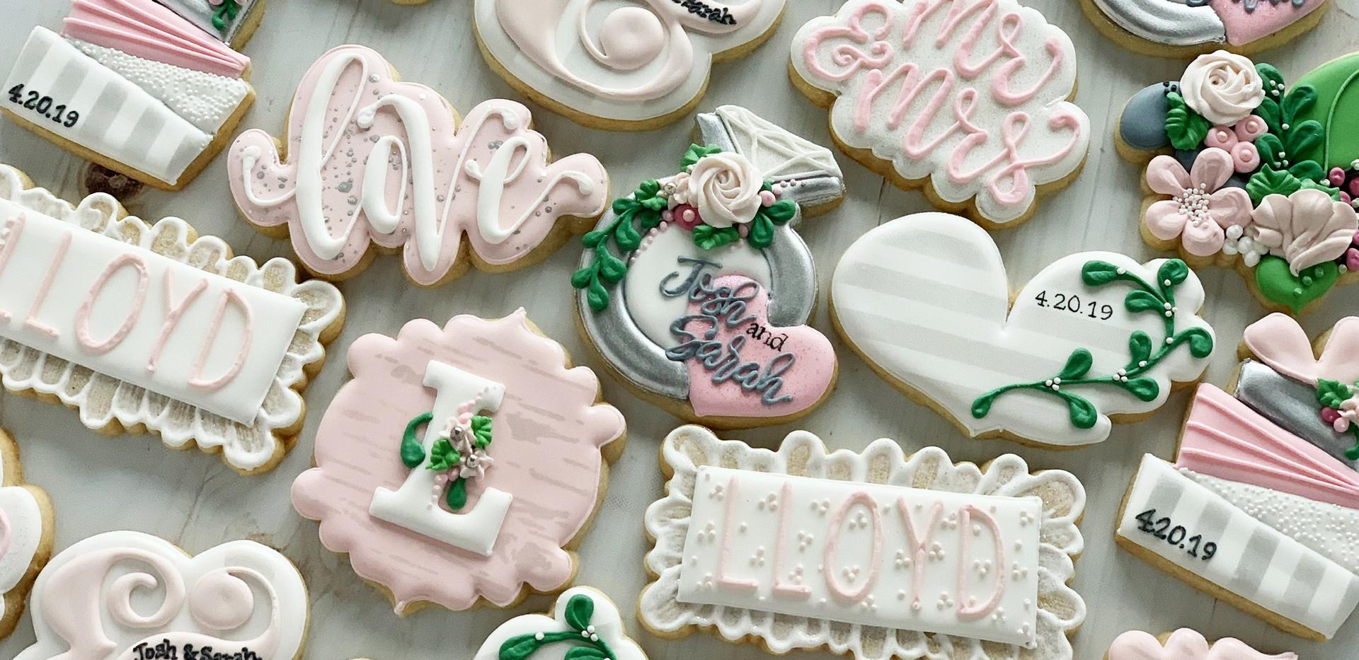 Lloyd Wedding Shower Cookies _ Simply Re