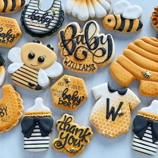Bee  Baby Cookies | Simply Renee Sweets
