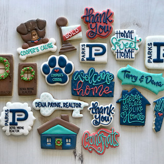 Parks Realty Collection Decorated Cookies