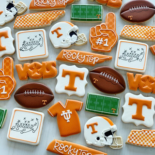 TN Vols Football Cookies | Simply Renee Sweets
