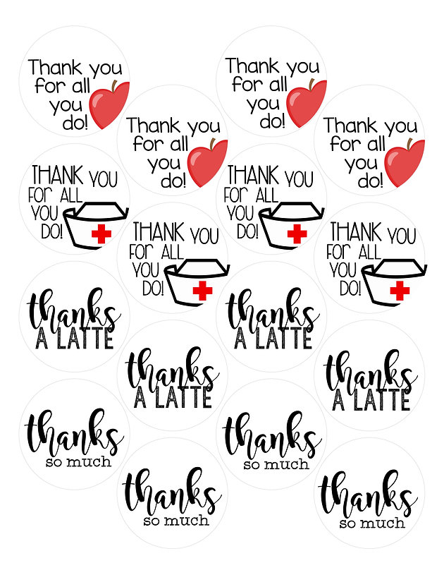 photograph regarding Thank You Tag Printable referred to as Absolutely free Thank By yourself Tag Printable