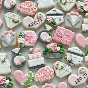 Wedding Mini Cookies | Simply Renee Sweets