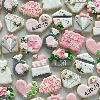Wedding Mini Cookies | Simply Renee Sweets