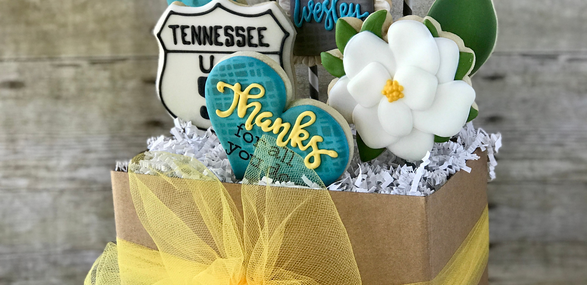 Thank You Cookie Bouquet _ Simply Renee