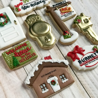 Christmas Burnett Real Estate Group Cookies 2
