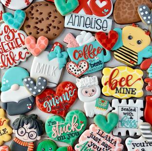 Valentine Cookies 2019