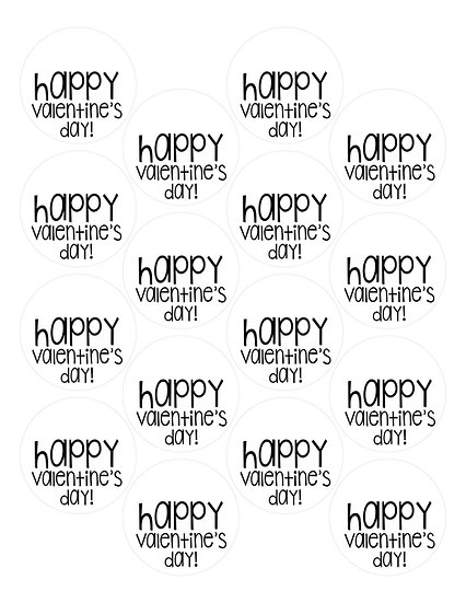 Happy Valentine's Day Free Tag Download