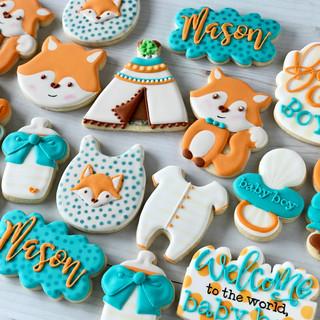 Fox Baby Cookies | Simply Renee Sweets