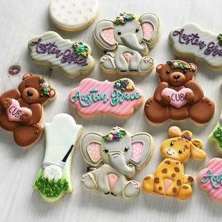 Animals Baby Cookies | Simply Renee Sweets