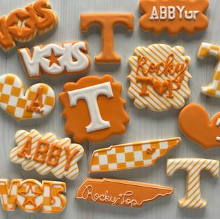 UT College Cookies | Simply Renee Sweets
