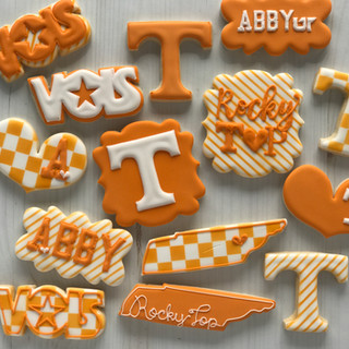 UT College Cookies | Simply Renee Sweets