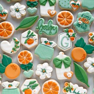 Little Cutie Baby Cookies