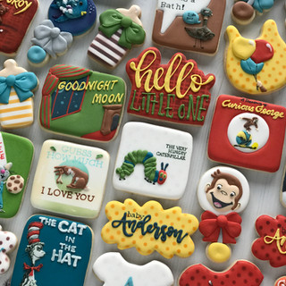 Classic Children's Books Baby Cookies | Simply Renee Sweets