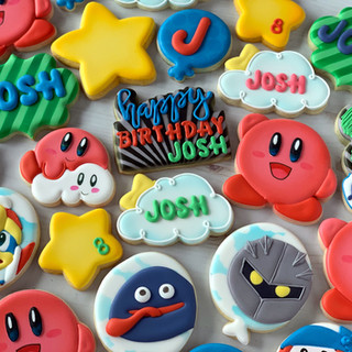 Kirby Birthday Cookies | Simply Renee Sweets