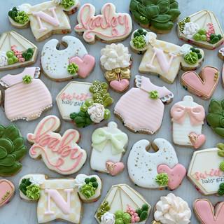 Succulent Baby Cookies