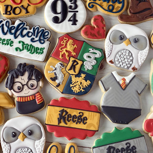 Harry Potter Baby Cookies | Simply Renee Sweets
