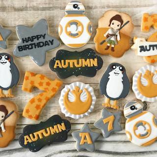 Star Wars Birthday Cookies | Simply Renee Sweets