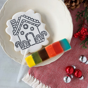 Christmas 2018 Decorated Cookies Paint your Own