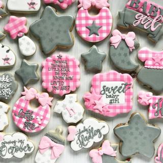 Twinkle Little Star Baby Cookies | Simply Renee Sweets