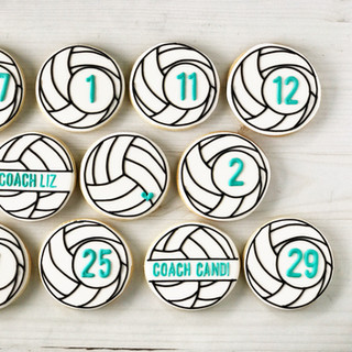 Soccer Sports Cookies | Simply Renee Sweets